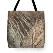 open pit mine Kennecott, copper, gold and silver mine operation Tote Bag