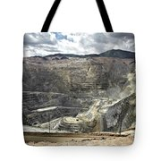 Open Pit Mine, Utah, United States Tote Bag