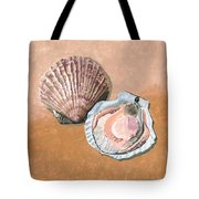 Open Scallop Tote Bag