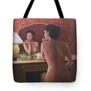 Open Secret II Tote Bag by Don Perino