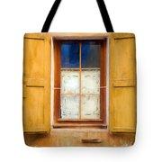 Open Shutters Tote Bag