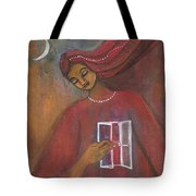 Open The Windows To Your Soul Tote Bag by Prerna Poojara