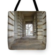 Open Tunnel Tote Bag