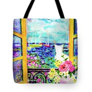 Open Window-colours Tote Bag