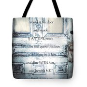 Open Your Heart Tote Bag