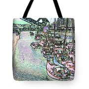 Opening Day Of Boating Tote Bag