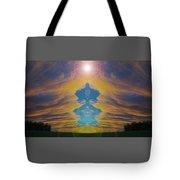 Opening Heavens Tote Bag