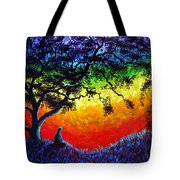 Opening The Chakras Meditation Tote Bag