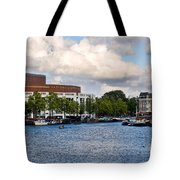 Opera House At The Waterfront Tote Bag