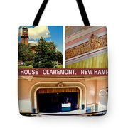 Opera House Claremont Nh Tote Bag