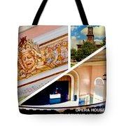 Opera House Diagonal Collage Tote Bag