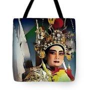 Opera Warrior Tote Bag