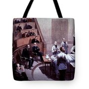 Operating Amphitheater, Administering Tote Bag
