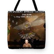 Operation Desert Shield/storm Tote Bag