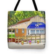 Opie's Snowball Stand Tote Bag