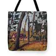 Opinicon Cabin Through The Oaks Tote Bag