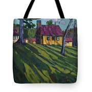 Opinicon Cottages In Autumn Tote Bag