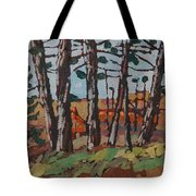 Opinicon November Forest Tote Bag