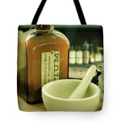 Opium Bottle In Apothecary Tote Bag