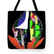Opposed Tote Bag
