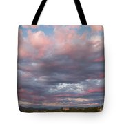 Opposite The Setting Sun Tote Bag