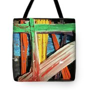 Opposites Attract Tote Bag by John Jr Gholson