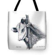 Virginia Opposum Tote Bag