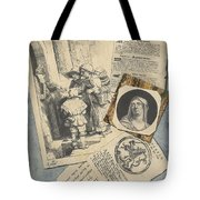 Optical Illusion With Prints And Pamphlets, L. Groskopf, C. 1746 Tote Bag