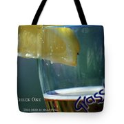 Optimist Quiz Tote Bag
