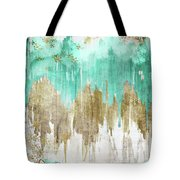 Opulence Turquoise Tote Bag