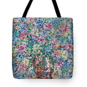 Opulent Bouquet. Tote Bag