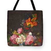 Opulent Still Life Tote Bag