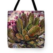 Opuntia Cactus Tote Bag