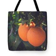 Orange #1 Tote Bag