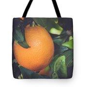 Orange #3 Tote Bag