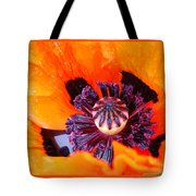 Orange After The Rain Tote Bag