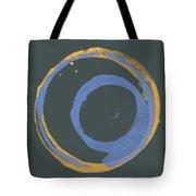 Orange And Blue 3 Tote Bag