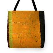 Orange And Brown Tote Bag