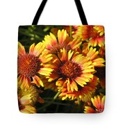 Orange And Gold  Tote Bag