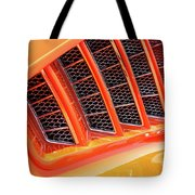Orange And Gold Paint Tote Bag