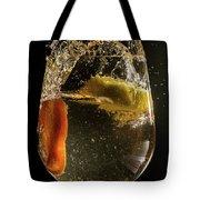 Orange And Lemon Spalsh Tote Bag