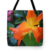 Orange And Yellow Canna Lily 2  Tote Bag