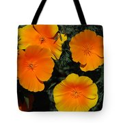 Orange And Yellow Flowers Tote Bag