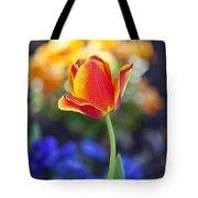 Orange And Yellow Tulip II Tote Bag