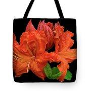 Orange Azalea Tote Bag