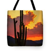 Orange Beautiful Sunset  Tote Bag