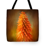 Orange Blast In The Garden Tote Bag