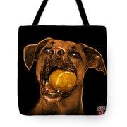 Orange Boxer Mix Dog Art - 8173 - Bb Tote Bag