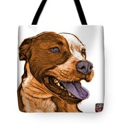Orange Bull Fractal Pop Art - 7773 - F - Wb Tote Bag