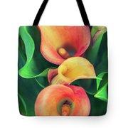 Orange Calla Lily Tote Bag